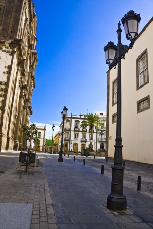 Main street in Las Palmas de Gran Canaria, Gran Canaria, Spain photo