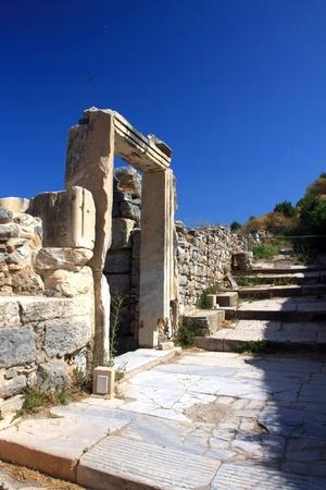 queen's theatre: Efez ancient ruins, Turkey