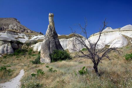 stone formations, Cappadocia, Turkey photo