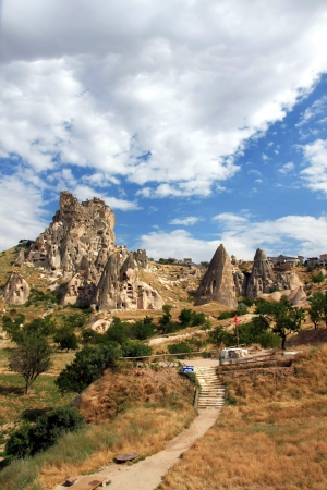 Cappadocia - Turkey, Uchisar Stock Photo - 15284770