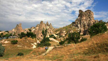 Cappadocia - Turkey, Uchisar Stock Photo - 15284826