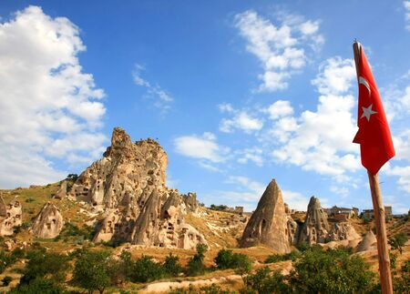 Cappadocia - Turkey, Uchisar Stock Photo - 15284820