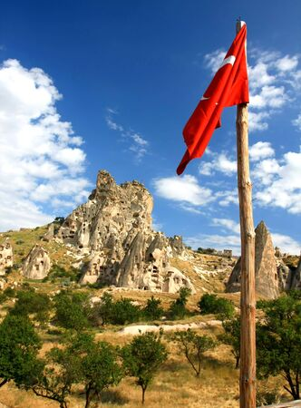 Cappadocia - Turkey, Uchisar Stock Photo - 15284824