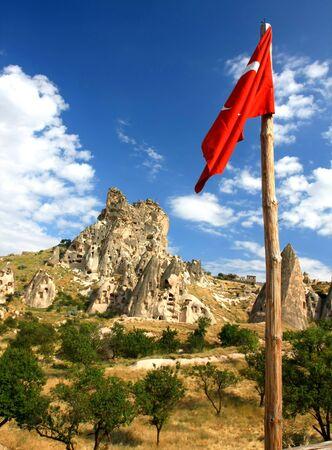 Cappadocia - Turkey, Uchisar Stock Photo - 15284824