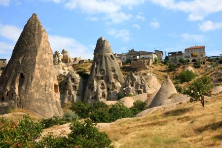 Cappadocia - Turkey, Uchisar 版權商用圖片