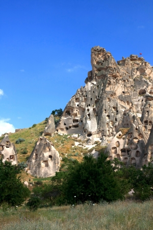 Cappadocia - Turkey, Uchisar Stock Photo - 15284868
