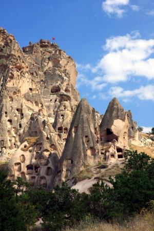 Cappadocia - Turkey, Uchisar Stock Photo - 15284863
