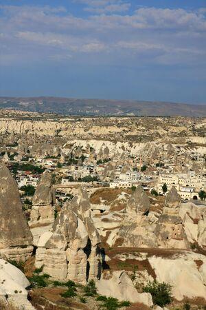 stone formations, Cappadocia, Turkey photo