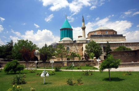Mevlana museum mosque photo