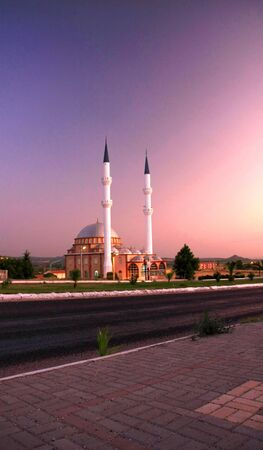 typical mosque in Turkey photo
