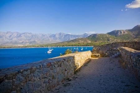 Calvi Town in Corsica island, France Stock Photo - 15290405