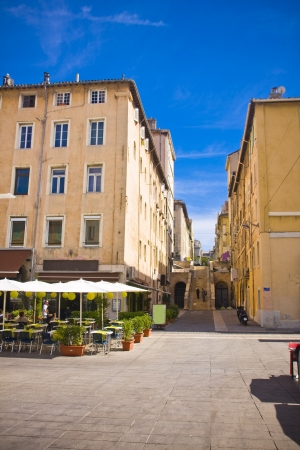 the city centre in Marseille , France Stock Photo - 17464946