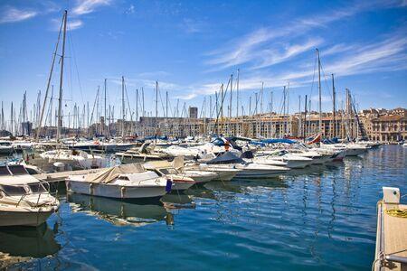 marseille: Port in Marseille, Frankrijk
