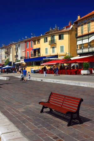 the harbour in Cassis, France Stock Photo - 17465129