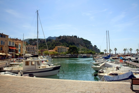 the harbour in Cassis, France