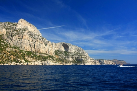 inlet bay: Calanques near Cassis in France, near Marseille