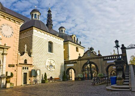 gora: Jasna Gora in Czestochowa, Poland Stock Photo