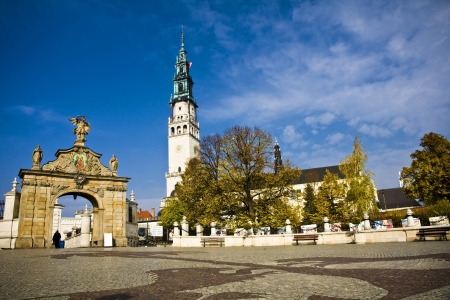 Jasna Gora in Czestochowa, Poland Stock Photo