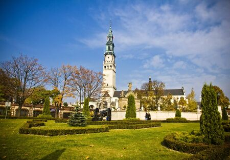 gora: Jasna Gora in Czestochowa, Poland Stock Photo