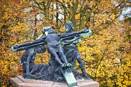 Station of the Cross in Czestochowa, Poland photo