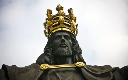 Jesus the king of world in Jasna Gora in Czestochowa, Poland Stock Photo