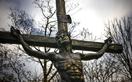 Station of the Cross in Czestochowa, Poland photo