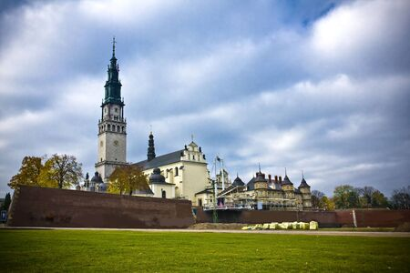 czestochowa: The Jasna Gora sanctuary in Czestochowa, Poland, is the one of the most popular pilgrimary places in Poland