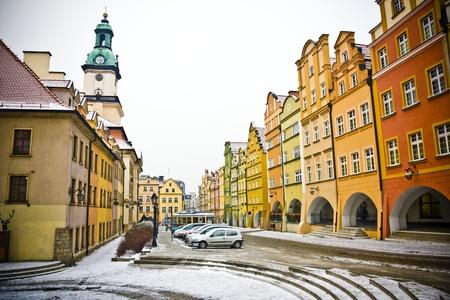 Jelenia Gora in winter time, Poland photo