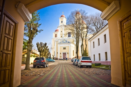 The Church of the Holy Spirit in Vilnius, Lithuania