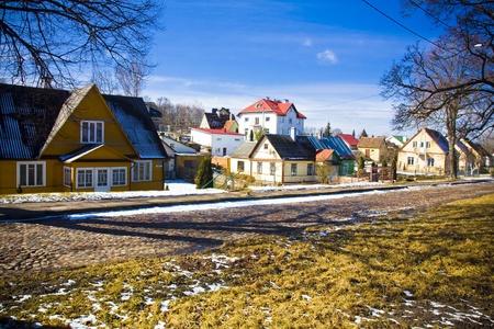 vilnius: Vilnius oldtown street,Lithuania