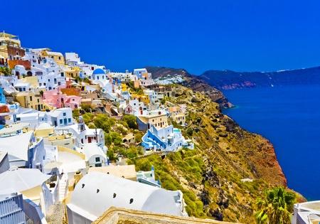 Amazing view on Santorini