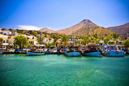 Elounda City, Crete, Greece