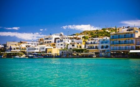 kreta: Elounda City, Crete, Greece