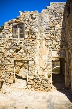 lepra: Spinalonga Fortaleza Grecia - Colony �ltima vez activo Lepra Editorial