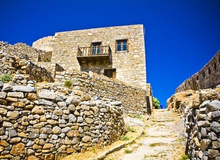 l�pre: Spinalonga Forteresse Gr�ce - Derni�re colonie de l�pre active