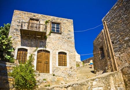 lepra: Spinalonga fortaleza Grecia - Last Colony Lepra Activo