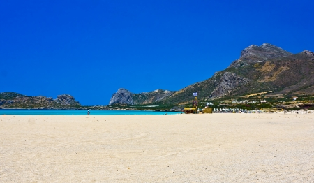Falsarna beach in Crete, Greece photo
