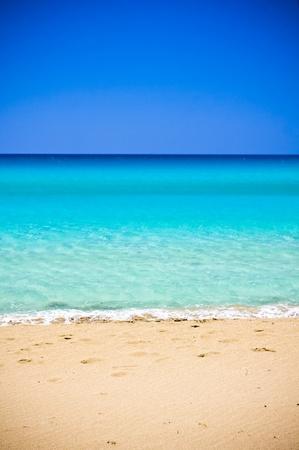 Falsarna strand in Kreta, Griekenland Stockfoto
