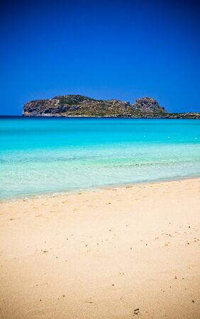 Falsarna beach in Crete, Greece