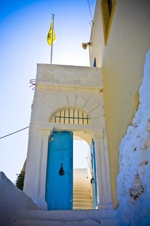 Church near Elafonisi , Crete, Greece