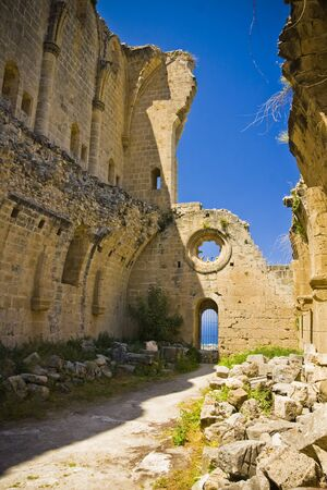 Bellapais Abbey in Northen Cyprus