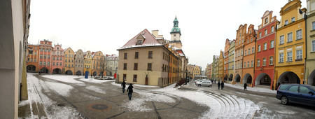 ambulatory: Jelenia Gora in winter time, Poland