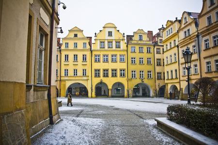 Jelenia Gora in winter time, Poland