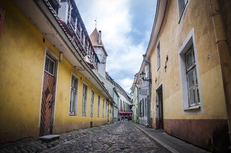 estonia: Old Street of Tallinn Estonia