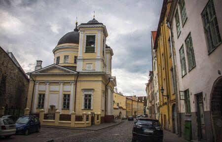 Old Street of Tallinn Estonia
