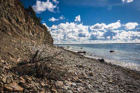 Panga Pank - highest cliff in Saaremaa,Estonia