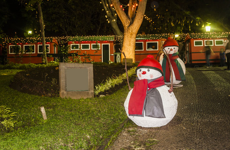 christmas house: Christmas Lights outside on a House