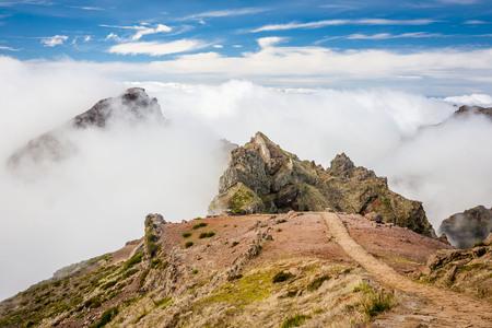 Pico do Arieiro in Madeira Island, Portugal