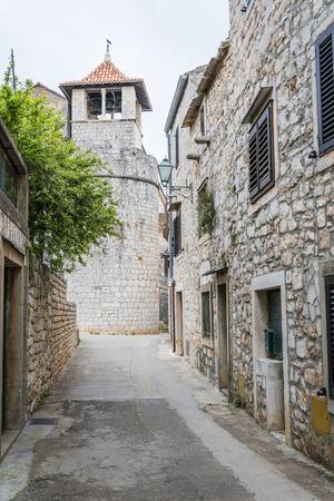 Beautiful Stari Grad village, Hvar island, Croatia