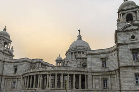 historians: Victoria Memorial di una magnifica architettura e Calcutta in India Editoriali